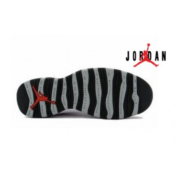 buy popular 4c9a7 376e8 Cheap Air Jordan 10 Retro White Black Light-034 - Buy ...