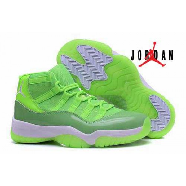 super populaire 58a5c 8c19d Cheap Air Jordan 11 GS Neon Green-029 - Buy Jordans Cheap