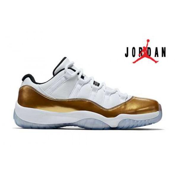 sports shoes 7df49 c52e0 Cheap Air Jordan 11 Low Gold Medal-103 - Buy Jordans Cheap