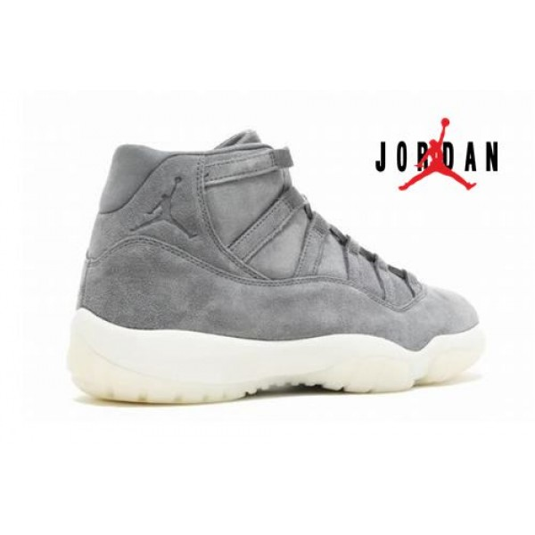 low priced d6e1c c03b1 Cheap Air Jordan 11 Prem Grey Suede-110 - Buy Jordans Cheap