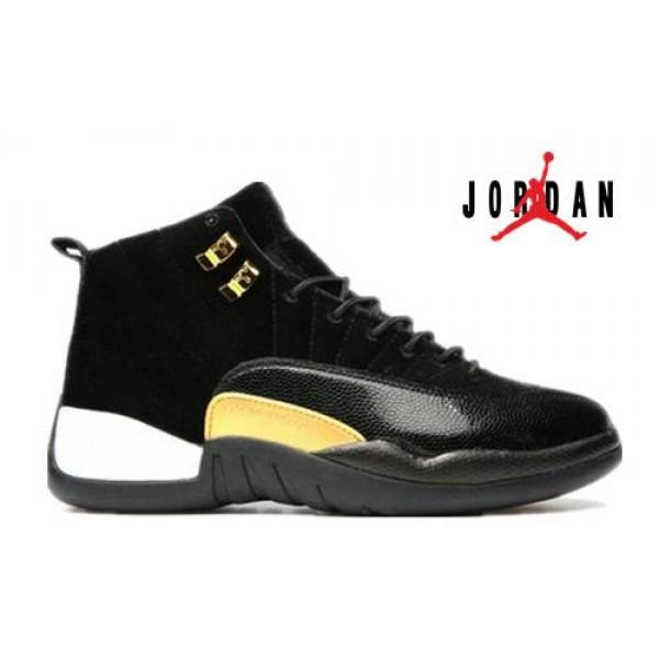 286dd8425e7 Cheap Air Jordan 12 GS Black White-024 - Buy Jordans Cheap