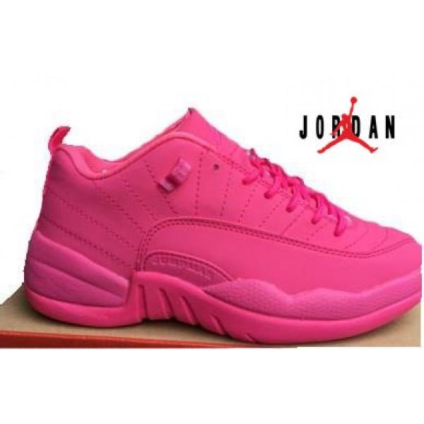f2a36601062656 Cheap Air Jordan 12 GS Low All Pink-022 - Buy Jordans Cheap