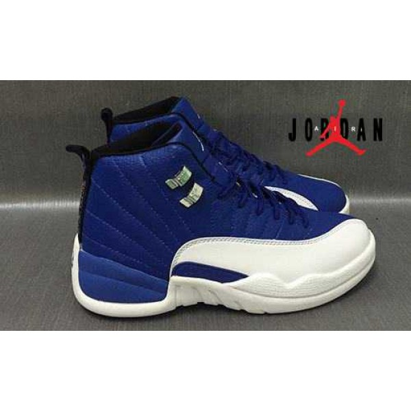 promo code f0289 333c2 Cheap Air Jordan 12 Retro White Blue-100 - Buy Jordans Cheap