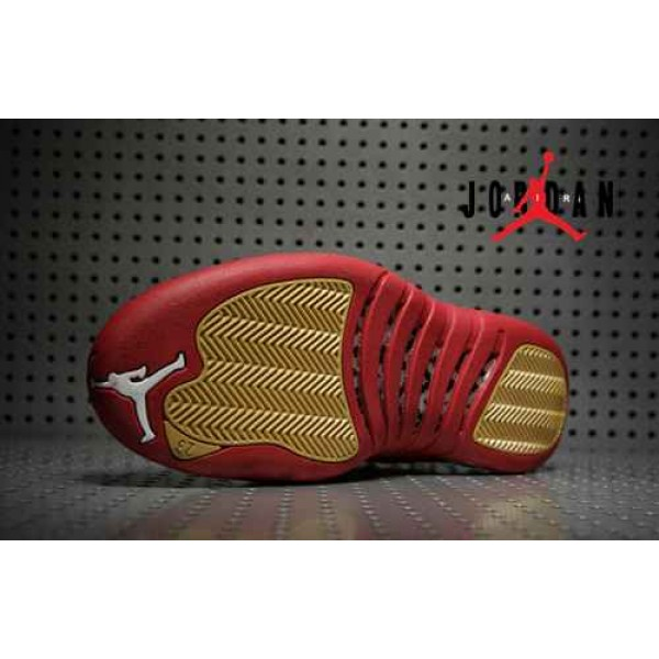 best sneakers baf86 09d59 Cheap Air Jordan 12 Wine Red Gold Velvet-097 - Buy Jordans Cheap