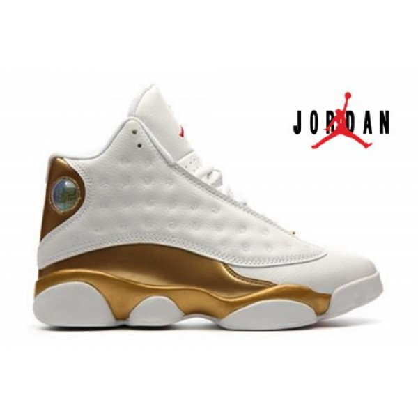 best sneakers 66b49 04e0f Cheap Air Jordan 13 White Metallic Gold-173 - Buy Jordans Cheap