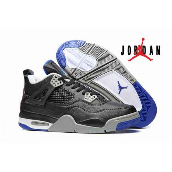 detailed look 5d11c 495c3 Cheap Air Jordan 4 Retro Black Blue-188 - Buy Jordans Cheap