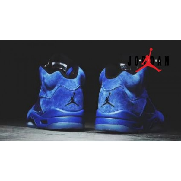 66f3a39cd77d5f Cheap Air Jordan 5 Retro Blue Suede-085 - Buy Jordans Cheap