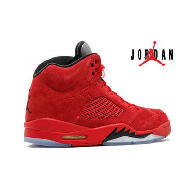 the best attitude 32815 6a34e Cheap Air Jordan 5 Retro Red Suede-084 - Buy Jordans Cheap