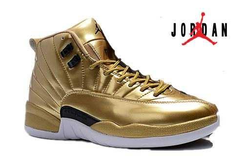 0a7683f3296 Cheap Air Jordan 12 Pinnacle Gold-089 - Buy Jordans Cheap