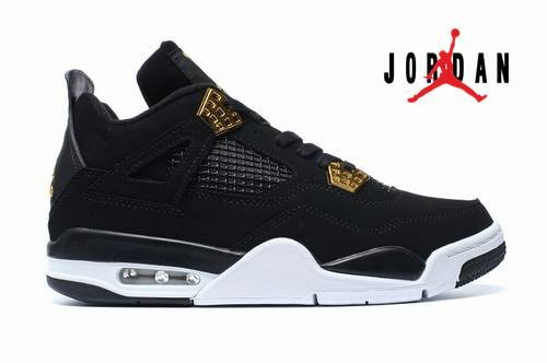 newest collection 68e8e 417e8 Cheap Air Jordan 4 Royalty Black White Gold-178 - Buy ...