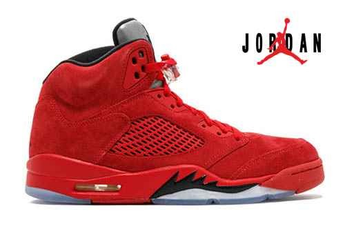 the best attitude 20103 90d4f Cheap Air Jordan 5 Retro Red Suede-084 - Buy Jordans Cheap