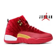 Air Jordan 12 GS Red White-026